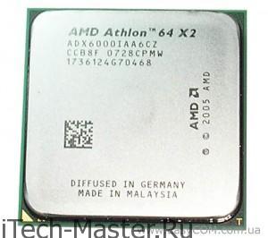 Перегрев процессора Athlon 64 X2 и борьба с ним