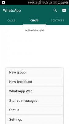 whatsapp messages web