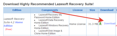 Lasersoft Recover My Password