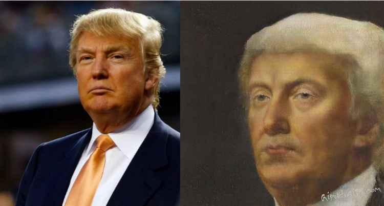 Дональд Трамп нарисованный All Portraits